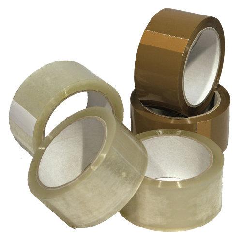 Скотч для ручной упаковки, прозрачный, тонированный Image