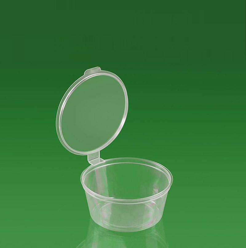 Пластиковая тара для общепита: баночка, соусник и так далее