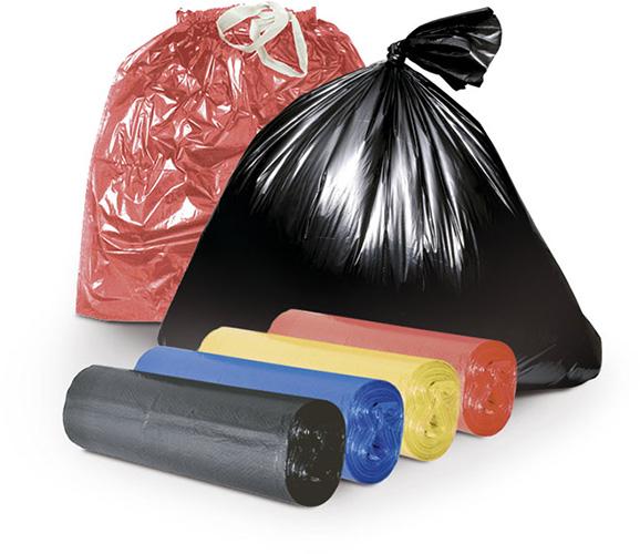 Мешки «ПВД» (— для сбора мусора)